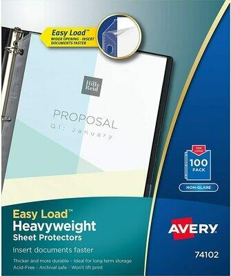 Feuilles protectrices AV74102 de Avery