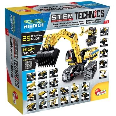 Science Hi-Tech- Robot/ Pelleteuse 25en1 Technics de LISCIANI