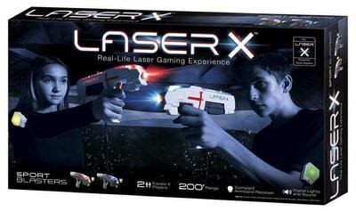 Ensemble Double Sport Blasters de Laser X