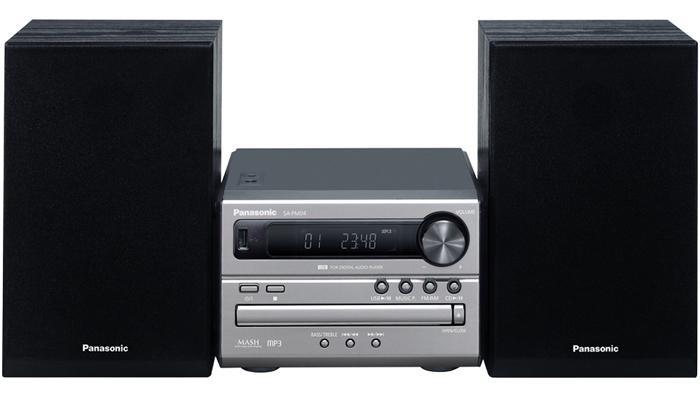 Microchaîne avec lecteur CD et technologie Bluetooth®  de Panasonic