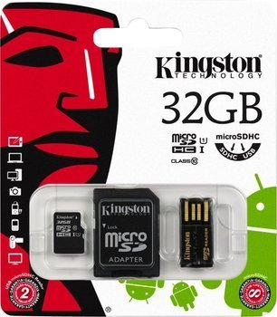 Carte micro SD HC 32G classe 10 de Kingston technology