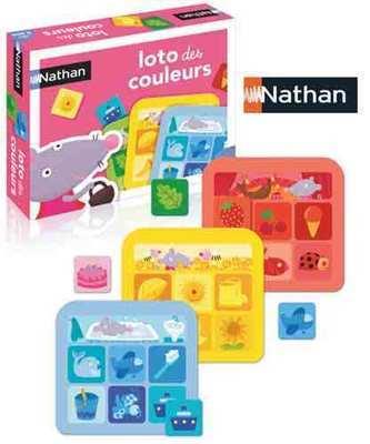 Loto des couleurs de Nathan