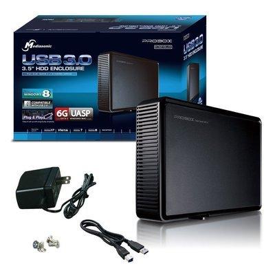 Boîtier de disque dur Probox K32-SU3 de Mediasonic