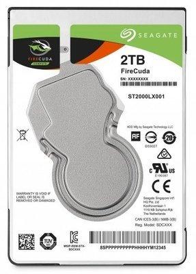 Disque dur 2T FireCuda™ 2.5po 7mm ST2000LX001 de Seagate