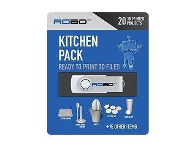 Modèles imprimables 20 fichiers - articles cuisine de Robo +15 articles cuisine de Robo