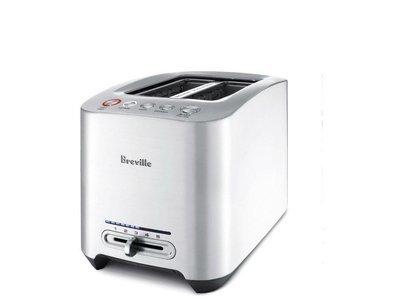 Grille-Pain Smart Toaster™ en Métal Moulé à 2 Tranches de Breville