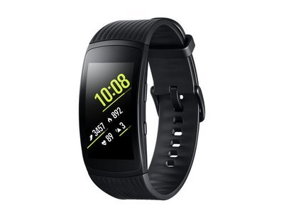 Montre Gear Fit2 Pro petit noir SMR365NZKNXAC de Samsung