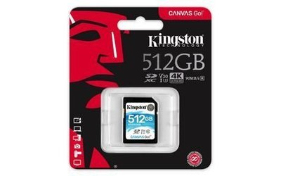 Carte SD 512G SDG/512GBCR de Kingston