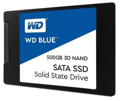 Disque solide bleu 500G  3D NAND WDS500G2B0A de Western digital