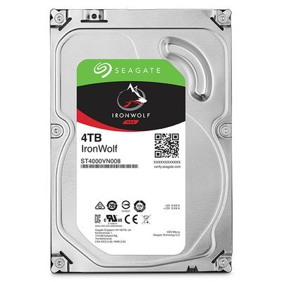 Disque dur 4T IRONWOLF 5900rpm de Seagate