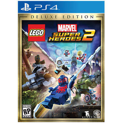 Jeux PS4 LEGO MARVEL: SUPER HEROES 2 - DELUXE EDITION