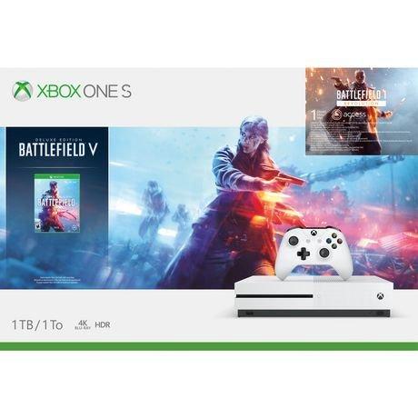 Console Xbox One S 1 To Battlefield™ V de Microsoft