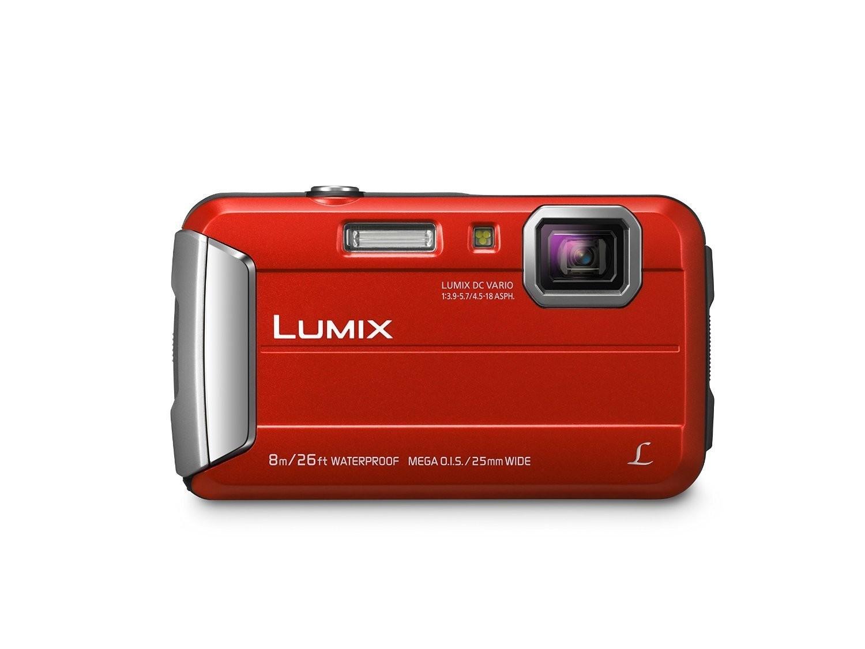 Appareil photo Lumix ROUGE DMCTS30R hydrofuge de Panasonic
