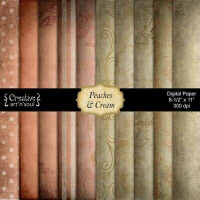 Peaches and Cream Paper Pack PP1216