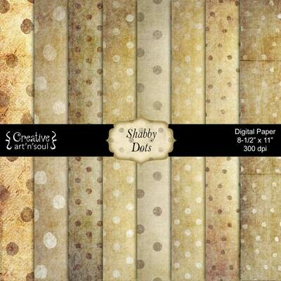 Shabby Dots Paper Pack PP1219