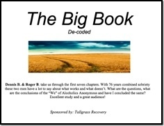 The Big Book Decoded - Sioux Falls, 2017