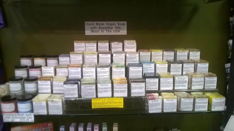 Soap, Handmade with Essential Oils, 25 Different Flavors, Priced Each