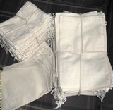 """25""""x25"""" Cotton Bags with Drawstring, 100 Pk"""