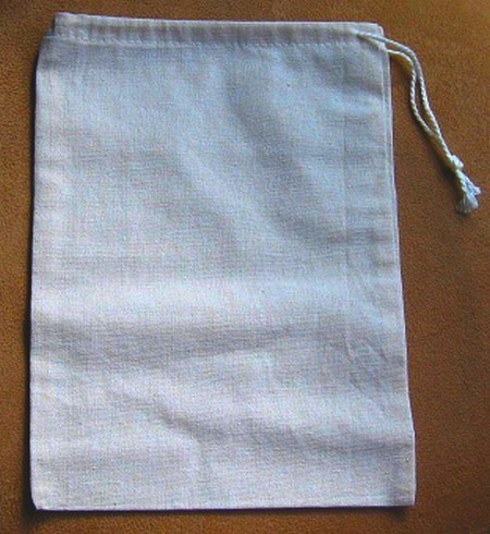 """8""""x 10"""" Cotton Bags, 4 Pack, Priced Per Pack"""