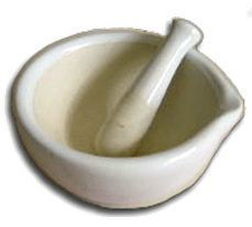 100ml Mortar with Pestle, Boxed, Price Each