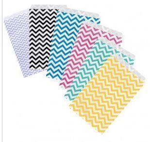 "Paper Gift Bags, 6""x9"", Choose Color, 100 Pk"