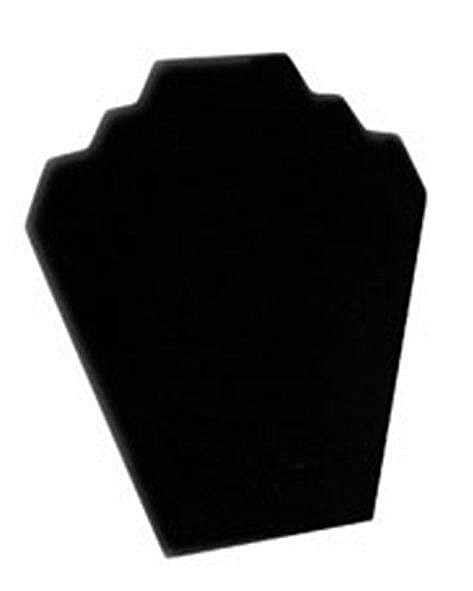 """Necklace Display with Easel, 8 1/4""""W x 9 3/8""""H, Black Velvet, Priced Each"""