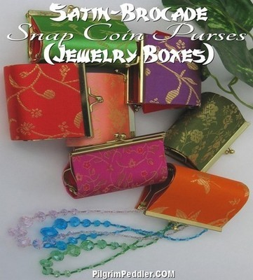 Coin Purses With Clasp, 3