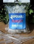 Pipettes, Plastic Transfer, 50 Pk, Priced per 6 Packs