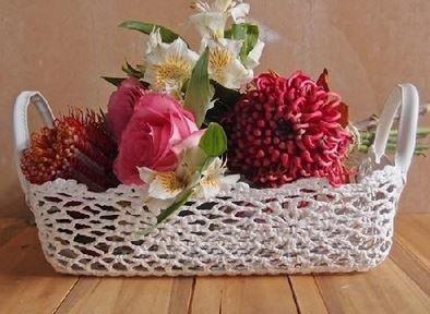 Lace Baskets, 12