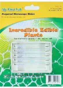 Incredible Edible Plants 5pc Slide Set, Priced Per Set