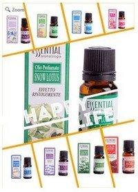 Essential Oil 10 Piece Set, 10 Various Scents, 10ML Bottle, Boxed, Priced Per Set