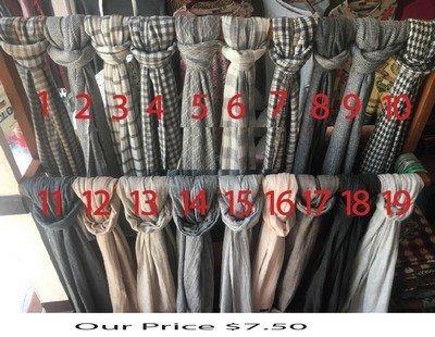 """Cashmere Blended Scarves, 28"""" x 80"""", Choose Design, Priced Each"""