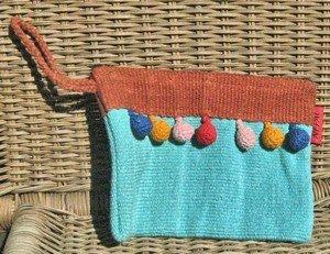 Tassel Cotton Bags, 5.25