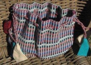 Cotton Drawstring Pouches, 5.5