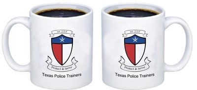 Texas Police Trainers Signature Mug ( This month's FEATURED ITEM)