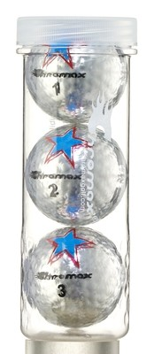 Chromax® Colored Silver Golf Balls - Limited Edition Star
