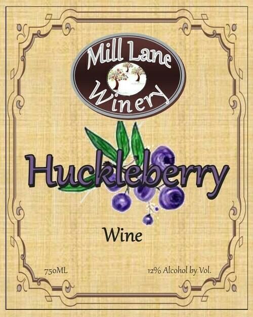 Huckleberry Wine