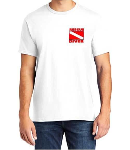 Short Sleeve T-Shirt: Rescue Diver EMT
