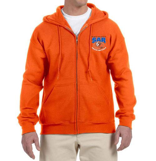 Zipper Hoodie Sweatshirt (Dri-Wear): SAR World