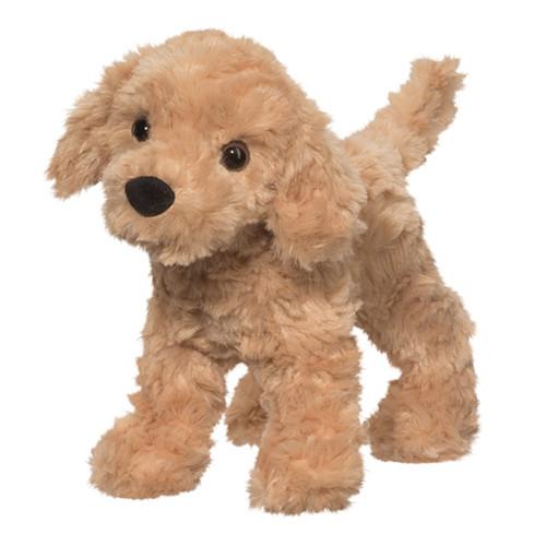 Plush Pup Standing: Golden Retriever