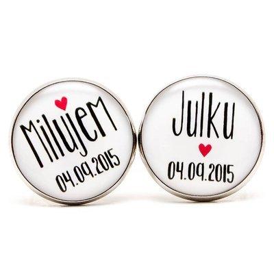 Milujem... + dátum