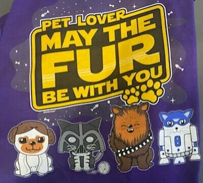 ONE TIME SPONSOR - May the Fur Be With You