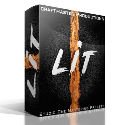 LIT Mastering Presets for Studio One
