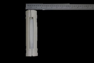 Disposable, molded PVC centralizer for 40 mm diameter probe, 52mm (2.0