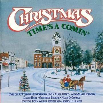"""Christmas Time's A Comin'  """"In the Heat of the Night"""" Cast and Friends (Charity Christmas CD)"""