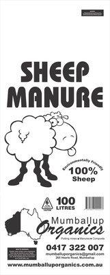 Sheep Manure 100 Liters
