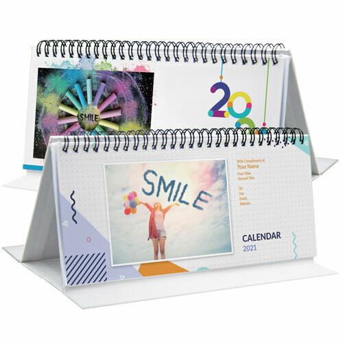DSA10 9x5 座枱月曆 (快樂人生)