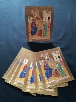 Icon post card