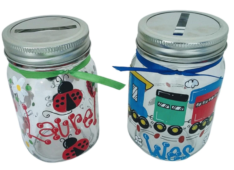 Mason Jar Bank-32 oz.