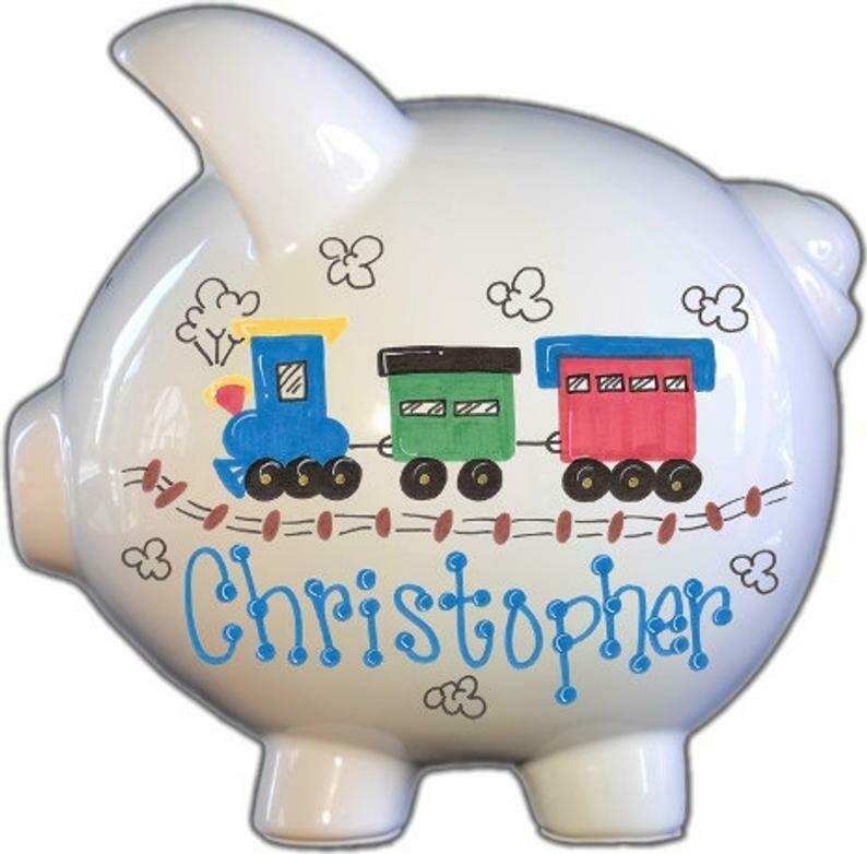 Choo Choo train Piggy Bank